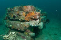 Concrete artificial reef (Lembeh Resort)